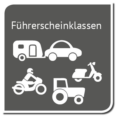Die Führerscheinklassen